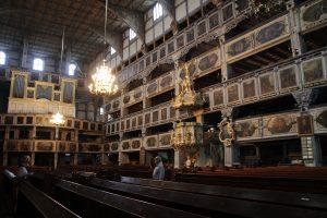 Im Inneren der Friedenskirche
